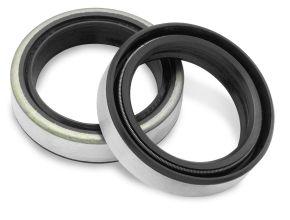 Bikemaster Fork Seals for Street - 73-74 XL; 73-77 FX FSM030 DM3 OEM# 45927-73 - Black - 35 x 47 x 7.5/10