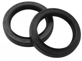 Bikemaster Fork Seals for Street - OEM# FSM032 DR2 - Black - 38 x 50 x 8/9.5