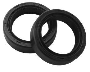 Bikemaster Fork Seals for Street - OEM# DR3 334510.5 - Black - 33 x 45 x 10.5