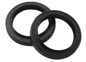 Bikemaster Fork Seals for Street - OEM# DR2 40 52 8 - Black - 40 x 52 x 8/10.5