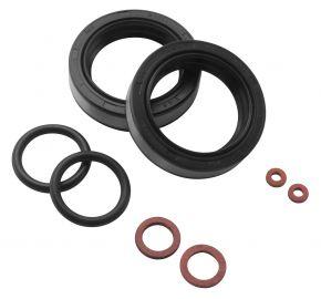 Bikemaster Replacement Fork Seals for Harley-Davidson - Black - 35 x 47 x 9.5/10