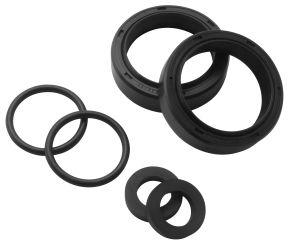 Bikemaster Replacement Fork Seals for Harley-Davidson - Black - 41.3 x 54 x 13