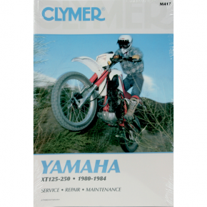 Clymer Manual - Yamaha XT125/250