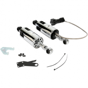 Progressive Suspension 422 Series Shocks with Rap - Chrome - Standard