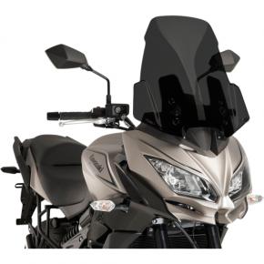 PUIG Race Windscreen - Dark Smoke - Tour - Kawasaki