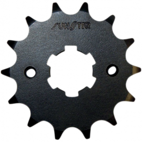 Sunstar Sprockets Counter-Shaft Sprocket - 15-Tooth - Yamaha/Suzuki