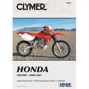 Clymer Manual - Honda XR650R '00-'07
