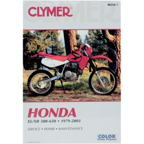 Clymer Manual - Honda XL/XR 500/600