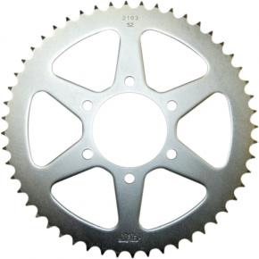 Sunstar Sprockets Rear Sprocket - 55-Tooth - Yamaha