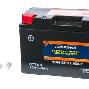 Power-Sonic FIRE POWER SEALED FACTORY ACTIVATED BATTERY CT7B-4