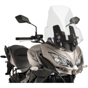PUIG Race Windscreen - Clear - Tour - Kawasaki