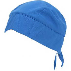 Tie-On Evaporative Cooling Skull Cap - Blue