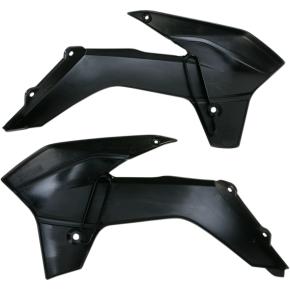 Acerbis Radiator Shrouds - SX 85 - Black