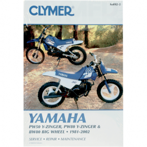 Clymer Manual - Yamaha PW50/80 & Big Wheel