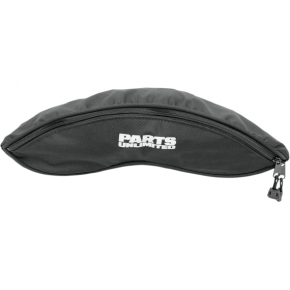 Parts Unlimited Yamaha Snowmobile Windshield Bag - Black