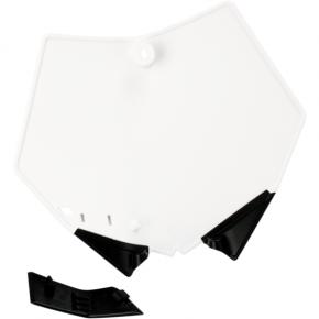 Acerbis Number Plate - KTM - White