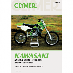 Clymer Manual - Kawasaki KX