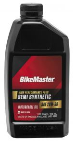 Bikemaster Semi-Synthetic Oil - 1 qt. - 532319