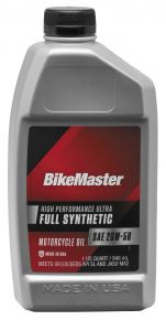 Bikemaster Full-Synthetic Oil - 1 qt. - 532325