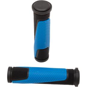 Light Blue/Black 807 Grips w/ Open Ends