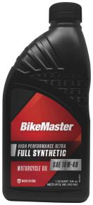 Bikemaster Bikemaster Full-Synthetic Oil - 1 qt.