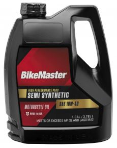 Bikemaster Bikemaster Semi-Synthetic Oil - 1 gal.