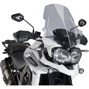 PUIG Race Windscreen - Light Smoke - Tour - Tiger