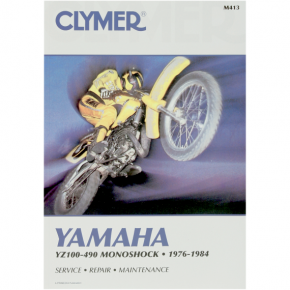 Clymer Manual - Yamaha YZ100-490 Monoshock