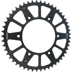 Sunstar Sprockets Rear Sprocket - 51-Tooth - Beta - Black