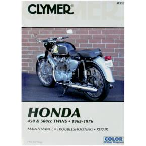 Clymer Manual - Honda 450/500 Twins
