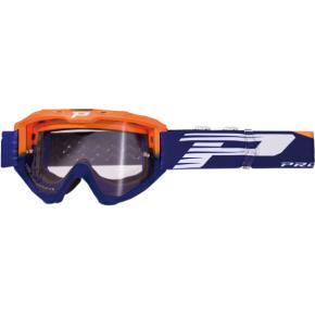 3450 Riot Goggles - Orange Fluo/Blue - Light Sensitive