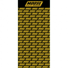 Moose Racing Slat Graphic 4'x8' - MUD
