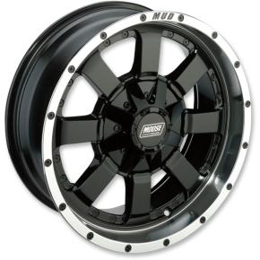 Moose Racing Wheel - 420MB - 17X7 - 4/136