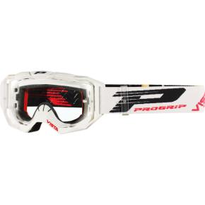 3303 Vista Goggles - White - Clear