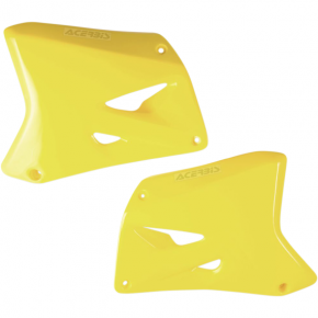Acerbis Radiator Shrouds - RM 03 - Yellow