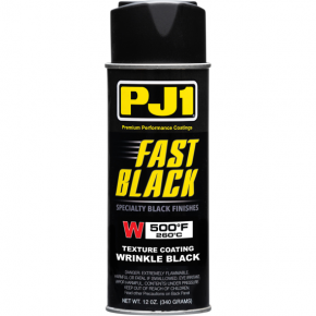 High-Temperature Paint - 12 oz - Wrinkle Black