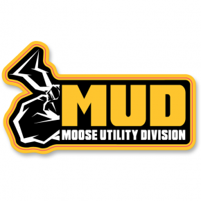 Moose Racing Mud Decal - 10 Pack