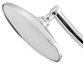 "Bikemaster Old School Visor Mirrors - Chrome - 4-1/2"""