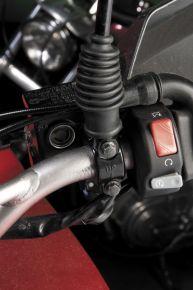 Bikemaster Handlebar Mirror Adaptors for Lever Brackets