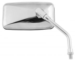 "Bikemaster Stainless Mirror - UNIVERSAL - Silver - 5-13/16"""
