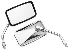 "Bikemaster Stainless Mirror - YAMAHA - Silver - 5-13/16"""