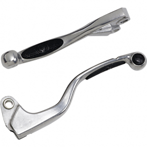 Moose Racing Black Competition Lever Set for KX