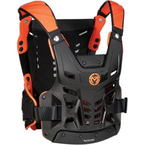 Moose Racing Synapse Lite Roost Deflector - Black/Orange - M/L