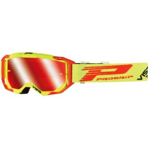 3303 Vista Goggles - Fluorescent Yellow/Red - Mirror