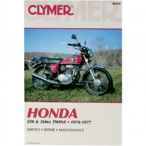 Clymer Manual - Honda 250/360 Twins