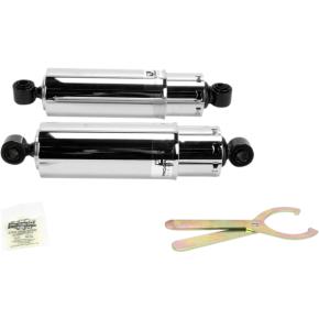 "Progressive Suspension Shock - 412 Series - 11"" - Standard - Chrome - Dyna"