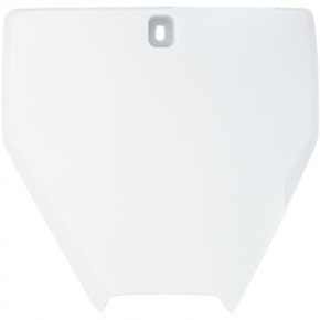 Acerbis Number Plate - TC 65 - White