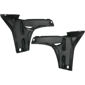 Acerbis Radiator Shrouds - Lower - YZ 450F - Black
