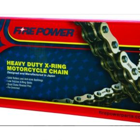 FIRE POWER X-RING CHAIN 520X106 KLR650 ALL YEARS
