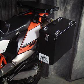 Happy Trails Products Aluminum Pannier Kit OWYHEE  KTM 690 Enduro R 2008-2016